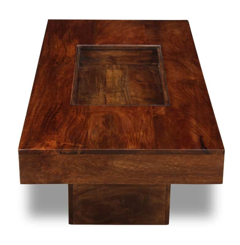 Dakota Dark Large Pebble Coffee Table
