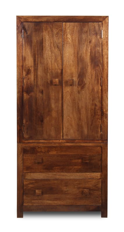 Dakota 2 Drawer Double Wardrobe