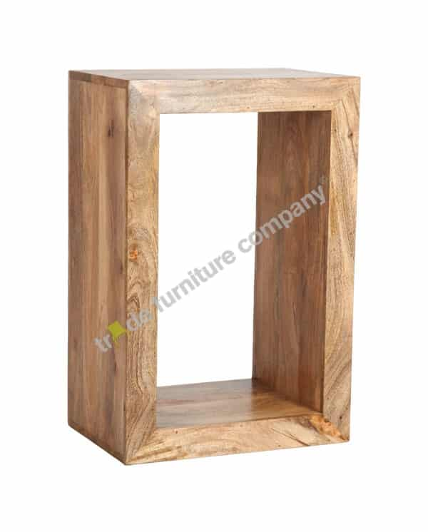 Light Dakota Rectangular Cube