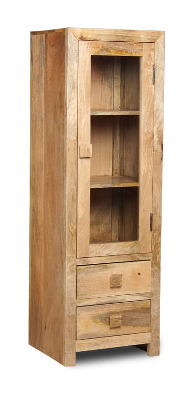 Light Dakota 2 Drawer Display Unit