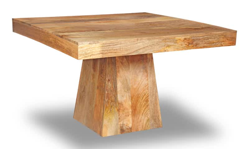 Light Large Dakota Pyramid Dining Table