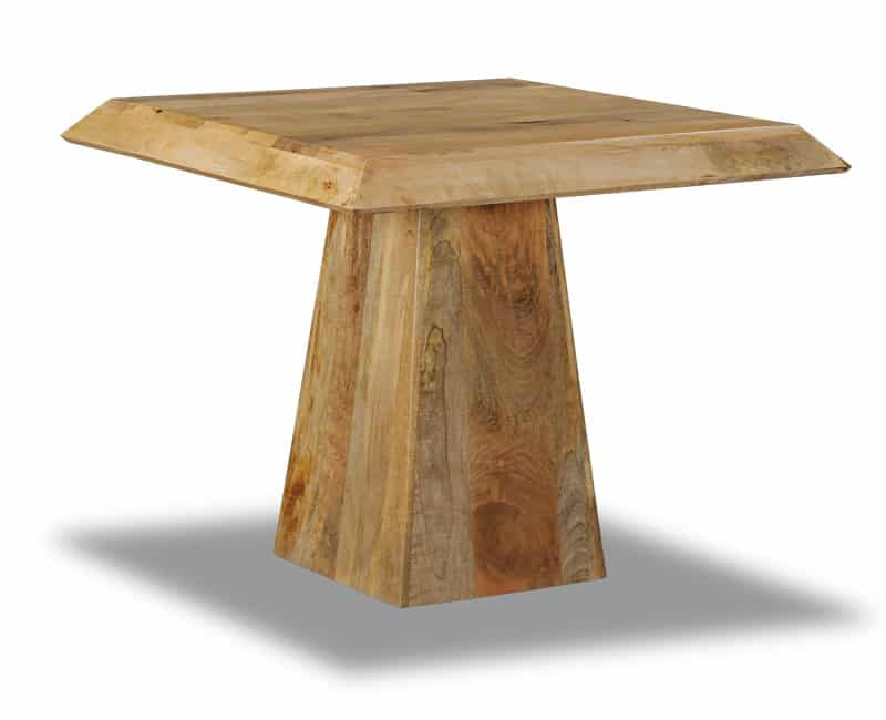 Light Dakota Small Pyramid Dining Table