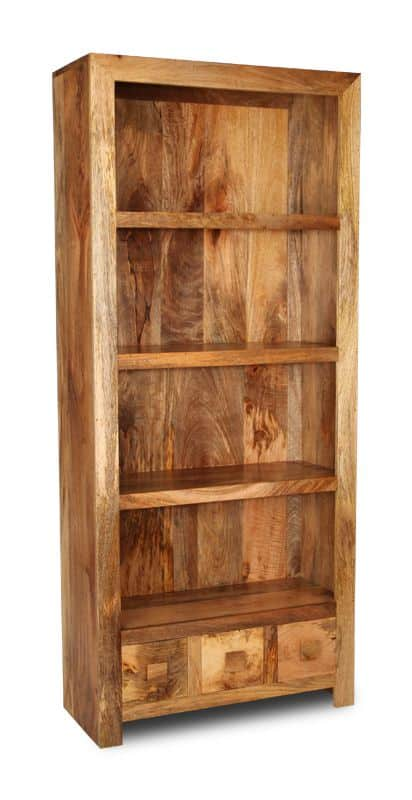 Light Dakota 3 Drawer Bookcase