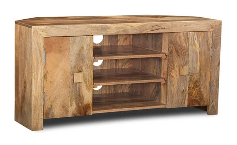 Light Dakota Corner TV Unit
