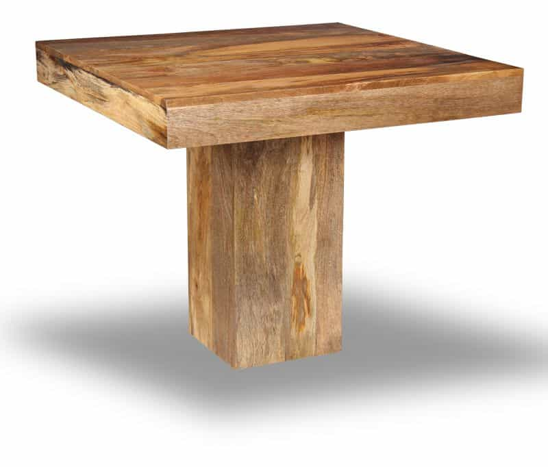 Light Dakota Small Cube Dining Table