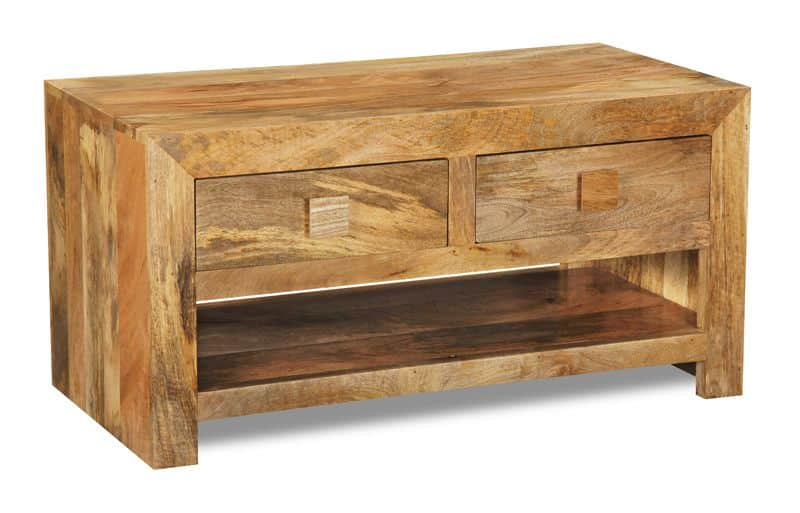 Light Dakota 2 Drawer Coffee Table